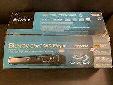 Sony Blu-Ray Disc / Dvd Player Bdp-S360 New Opened Box Made In Malaysia