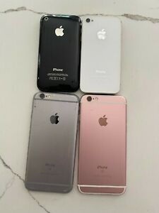 Old iPhone Lot Apple GB Old Phones Multiple Models Parts Working!!