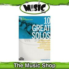 New 10 Great Solos for Early Intermediate Flute Music Book & CD