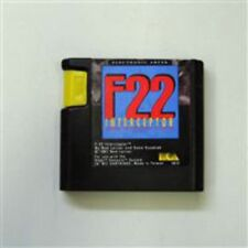 F-22 Interceptor Sega Mega Drive Game USED
