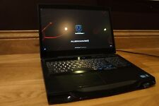 Stealth Black Alienware M17X R4 Gaming Laptop with Intel i7 processor