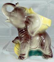 VINTAGE ROYAL COPLEY ELEPHANT PLANTER