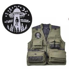 New Embroidered Military Iron-On Tactical Patch White Line I want to leave Space