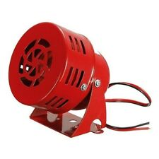 AUTOMOTIVE AIR RAID SIREN HORN CAR TRUCK VTG CHIC MOTOR DRIVEN FIRE RESCUE 12V E