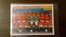 David Beckham Rookie Team Pegatina-Merlin Premier League 1996-Buen Estado