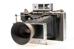 Polaroid Land Camera Model 180 Fuji FP100C 125i Sofortbildkamera Rangefinder