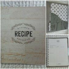 Cr Gibson Farmhouse Recipe Book Spiral Bound Pocket Pages Cards + Bonus Cards