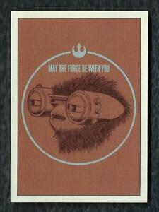 2019 Topps Star Wars Rise of Skywalker Series 1 May the Force Be With You FWY-4