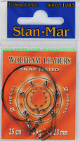 Pike traces Stan-mar tungsten wire wolfram leaders,wire,lure,predator,fishing