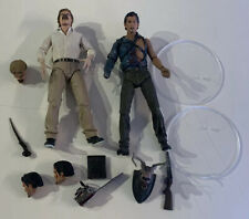 Neca Evil Dead 2 Pack Loose Complete Authentic Ash And Evil Ed 30th Anniversary