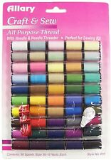 New!! Allary Craft & Sew All Purpose 45 Spool Thread - Free Shipping - New!!