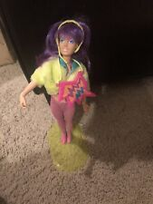 Vintage Hasbro Jem And The Holograms Doll The Misfits Clash Stand Clothes
