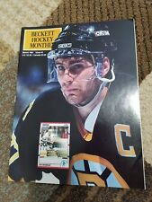 Beckett Hockey March 1991 🔥 # 5 RAY BOURQUE price Guide Bruins