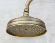 8 inch Round Antique Brass Showerhead Rainfall Rain Shower Head  Ksd052