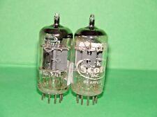 Pair (1) Scott (1) Mullard 6BL8 ECF80 Vacuum Tubes Same Construction