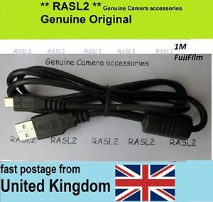 1m USB Camera to PC Cable For FujiFilm FinePix X100F X100T X-T100 X-T1 X-T2 XF10