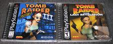 New listing Tomb Raider Iii & Iv Last Revelation (Playstation 1 Ps1) Complete, Lot of 2
