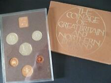 More details for 1974 royal mint proof set with outer wrapper. 1974 proof coin set toning noted