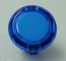 Japan Sanwa Blue Clear Start Buttons x 1 pc OBSC-24-CB Video Arcade Parts