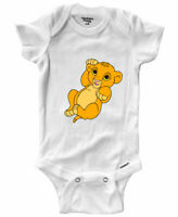 Cute Baby Simba Infant Gerber Baby Onesies Bodysuit Outfit Newborn Lion King