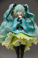 Vocaloid Hatsune miku 1/7 scale painted Anime Figure Snow-in-Summer New In Bo a