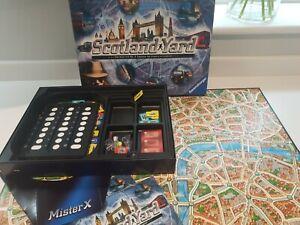 RAVENSBURGER SCOTLAND YARD HUNT FOR MISTER X BOARD GAME