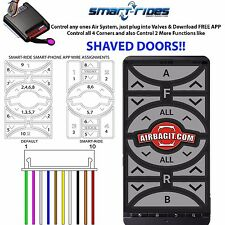 Compare AccuAir & SmartRide Air Bag Suspension System Touch Pad Controller