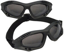 Rothco 10377 Black Tactical Goggles Ce Aproved - Anti-fog - Uv 400 Protection