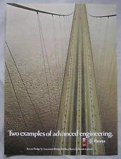 1972 Rover Original advert No.1