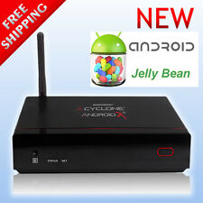 Cyclone Andriod X2 Dual Core Smart TV Box Media Player WiFi HDMI ATV1200 DC XBMC