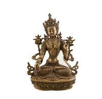 Soprammobile Tibetano Da Verde Tara Divinità Buddista 3kg400 Peterandclo 1573