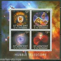 ST. VINCENT 2013 HUBBLE TELESCOPE SHEET I   MINT NH