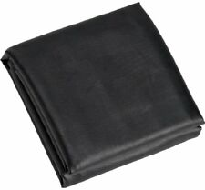 Fitted Heavy Duty Naugahyde Pool Table Cover for 8-Feet Table, Black