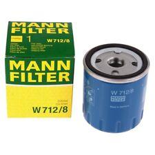 Ölfilter Mann Filter W712/8 ÖL FILTER Schmierung Citröen Peugeot Fiat