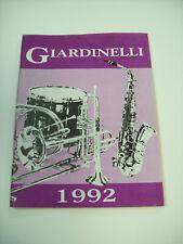 GIARDINELLI 1992 BAND INSTRUMENT CATALOG
