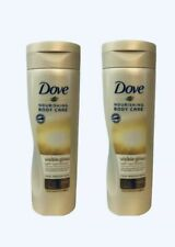 (2) Dove Nourishing Body Care 8.4 Oz Visible Glow Fair To Medium Self Tan Lotion