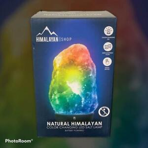 New Himalayan Salt Lamp LED