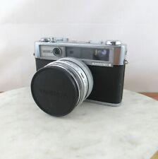 Vintage Yashica Lynx 14 35mm Rangefinder Camera Fast 45mm Lens