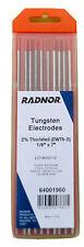 10 Pcs Radnor Tig Welding Tungsten Electrode / Rod 1/8
