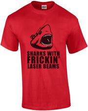 Sharks With Frickin Laser Beams - Austin Powers T-shirt