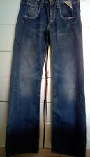 REPLAY JEANS denim blu  gamba larga wide W24 L32