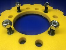 B.C.C Skids Yellow Trx 450 Poly Sprocket Guard Protector 1/2 Bolts Universal