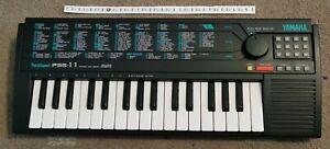 Yamaha PortaSound PSS-11 - Advanced Wave Memory - Electronic Keyboard -