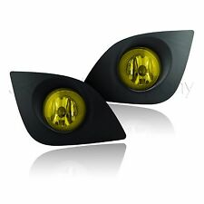 2014-2015 Toyota Corolla Fog Lights w/Wiring Kit & Wiring Instructions - Yellow