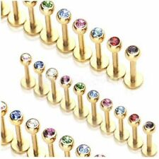 Stone Stud Body Piercing Jewellery