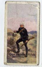 (Gr682-414) Edmondsons, British Army Series, Cape Mounted Rifles 1914 F-G