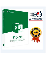Project 2019 Professional 2019 Activating Genuine Key For 1 PC