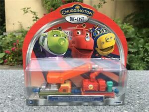 Tomy Chuggington Calley's Fire & Rescue Car 2pcs Metal Diecast Vehicle Train