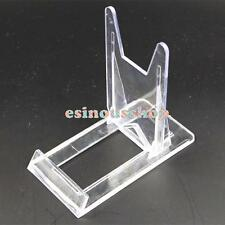 Transparent Plastic Acrylic Adjustable Frame Easel Holder For Display Picture HO