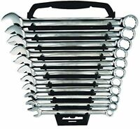 11 PC Piece Combination Spanner Set 6,7,8,9,10,11,12,13,14,17,19mm  Nickel U39